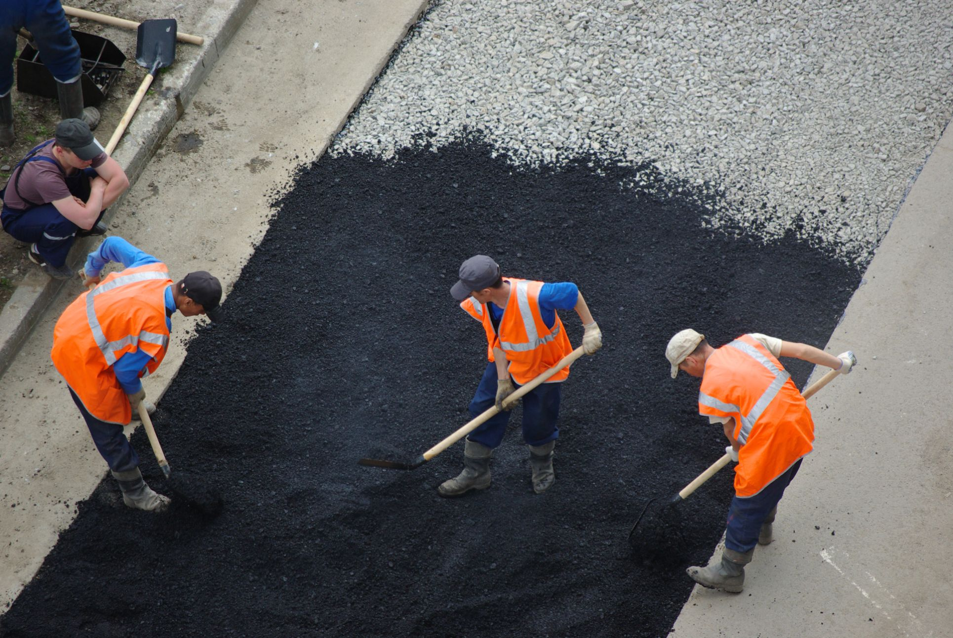 asphalt paving in los angeles california