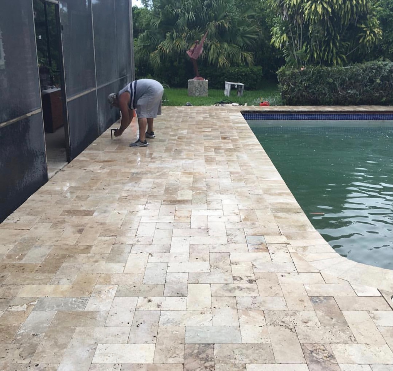 los angeles patio pavers installation