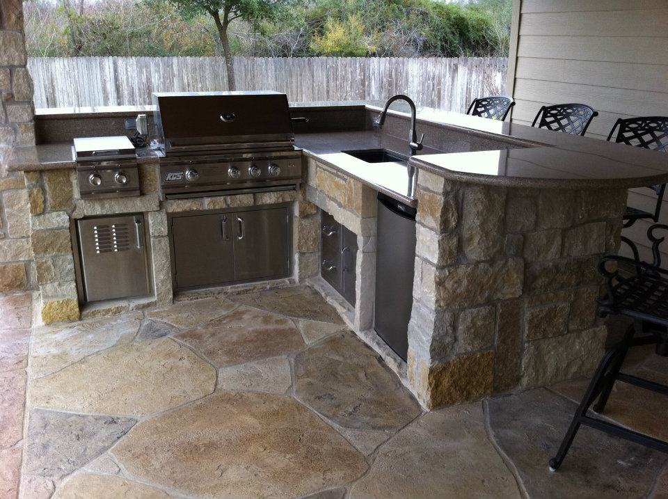 outdoor kitchen installation in los angeles